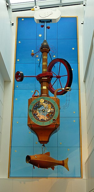 The Wishing Fish Clock in the Regent Shopping ...