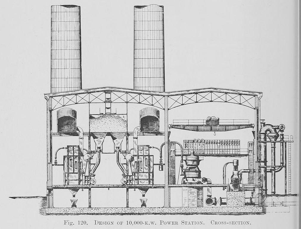 File:120. Design of 10,000 k.w. Power Station. Cross