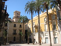 Plaza Sant�sima Faz, en el Casco Antiguo