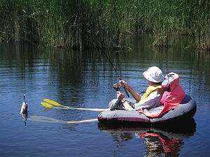 chair leg fishing floats kitchen tables and chairs sets float tube wikipedia