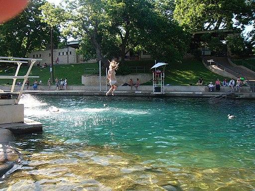 Barton Springs Pool - panoramio