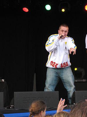 Rapper Brainpower from the Netherlands