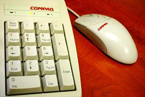 Compaq keyboard and mouse