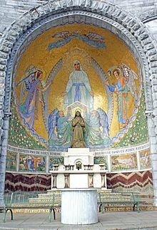 Basilique NotreDameduRosaire de Lourdes  Wikipdia