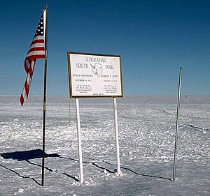 Geographic Southpole