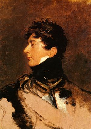 The Prince Regent by Sir Thomas Lawrence, c. 1814.
