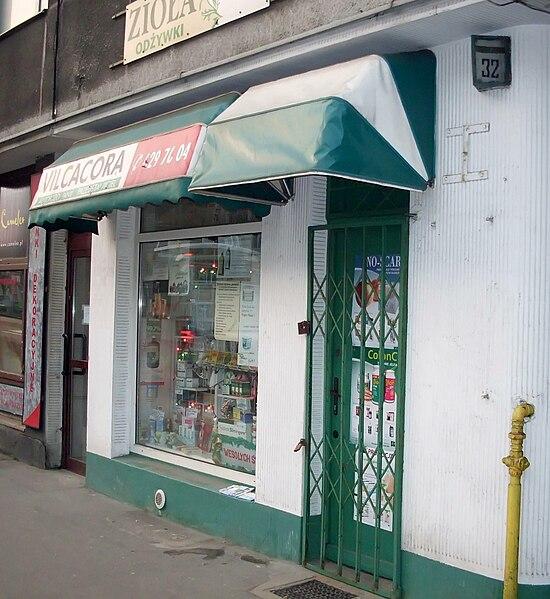 File:Herb-shop at ulica Śląska, Gdynia.jpg