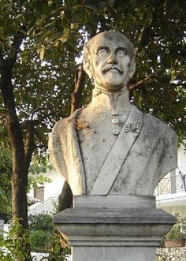 Προτομή του Αλέξανδρου Υψηλάντη στη Νέα Τραπεζούντα Πιερίας