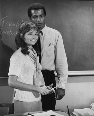 Publicity photo of Karen Valentine and Lloyd H...