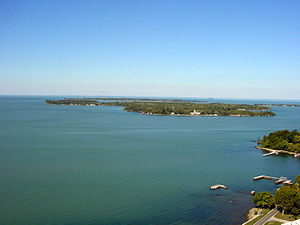Lake Erie Islands. This was taken from atop th...