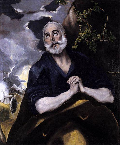 File:Las lagrimas de san Pedro El Greco 1580.jpg
