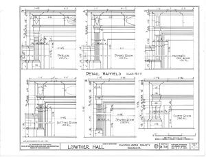 File:Lowther Hall, Clinton, Jones County, GA HABS GA,85