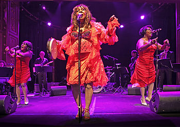 Martha and the Vandellas 2011 at Berns in Stoc...