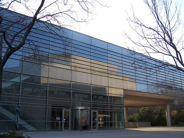 Mary And Leigh Block Museum Of Art - Wikipedia