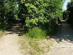 English: Paths at Toton