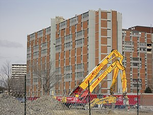 English: As part of the redevelopment of Regen...