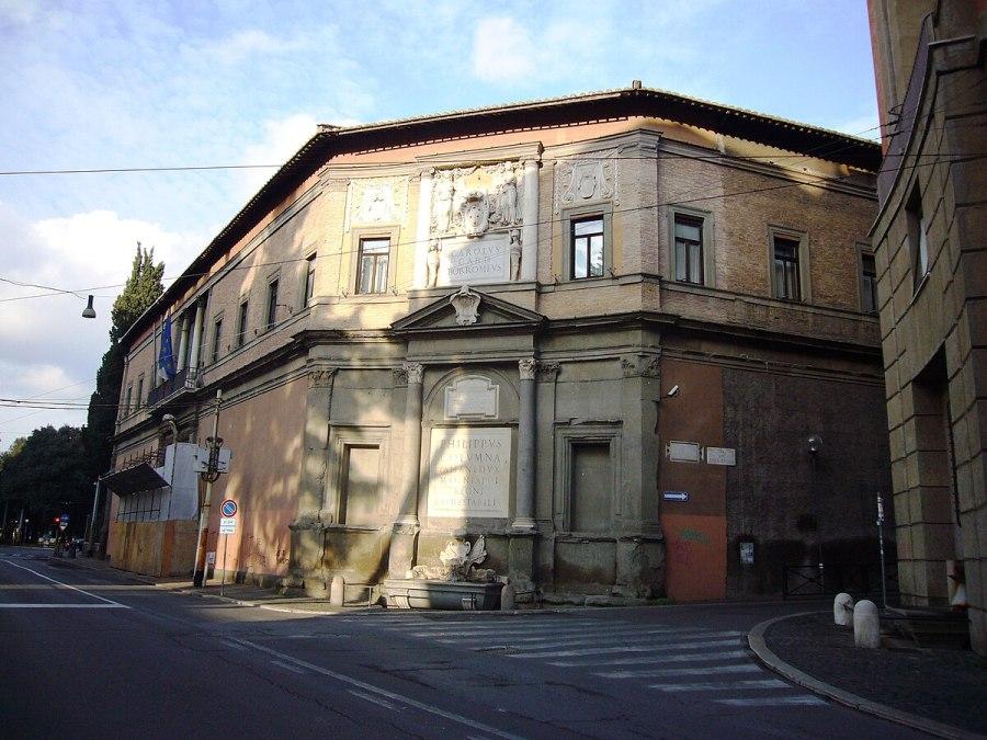 Palazzo Borromeo (Roma) - Wikipedia