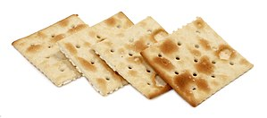 Saltine Crackers by Nabisco.
