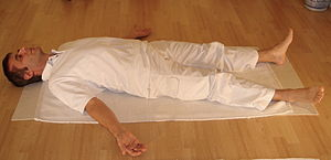 Yoga postures Shavasana