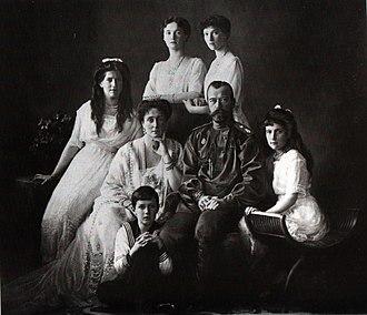 নিকোলাস ও তার পরিবার