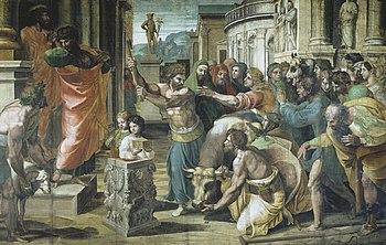 The Sacrifice at Lystra