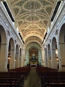 Iglesia de San Ignacio Santiago de Chile  Wikipedia la
