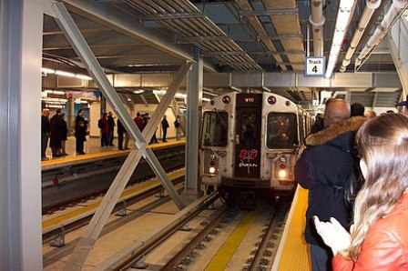 Image result for World Trade Center Subway Station Reopens for First Time Since 9/11