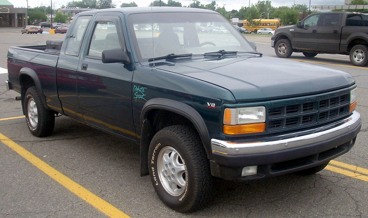 96 Dodge Dakota Colors