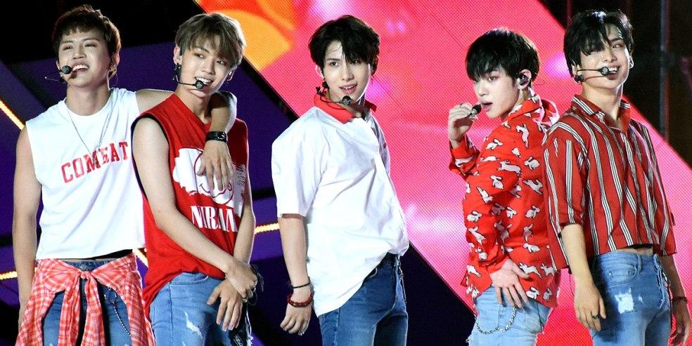 Ace Adventure Calling Emotions Kpop Boys Band Members