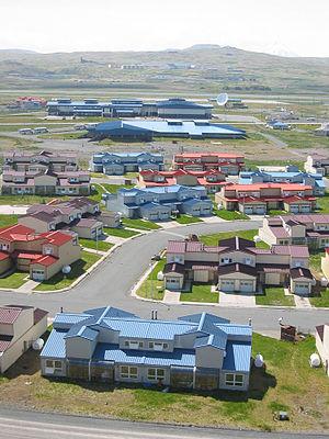 Adak-City, Adak Island, Alaska (USA).