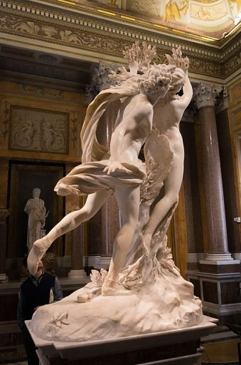 """Apollo and Daphne"" by Bernini"