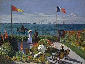 """Jardin à Sainte-Adresse"" by Claude ..."