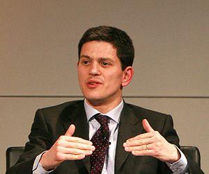 David Miliband, British politician