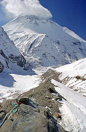 La Plus Haute Montagne Du Monde : haute, montagne, monde, Dhaulagiri, Wikipédia