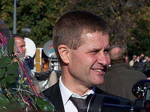 English: Erik Solheim, Norwegian Minister of D...