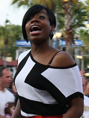 Winner of season 3 of American Idol, Fantasia ...
