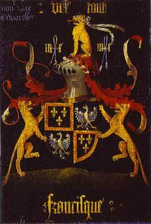 Francesco d'Este Coat of Arms