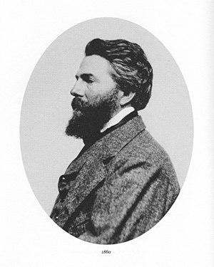 English: Herman Melville in 1860.