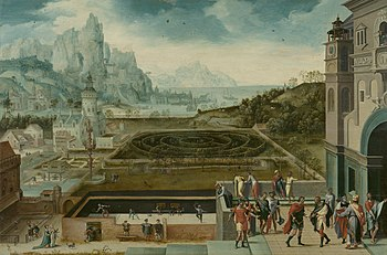 Landscape with David and Bathsheba