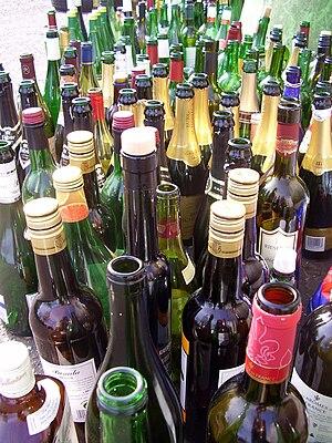 Leere Flaschen/empty bottles