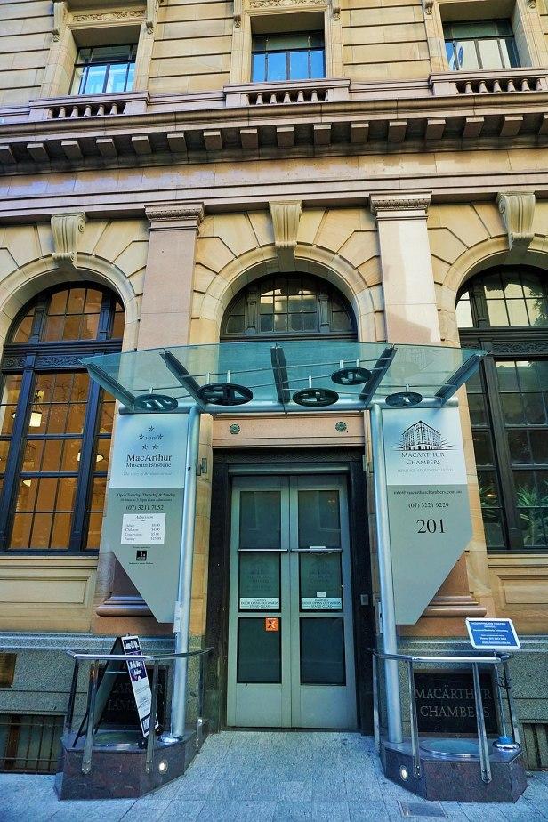 MacArthur Museum Brisbane - Joy of Museums - External