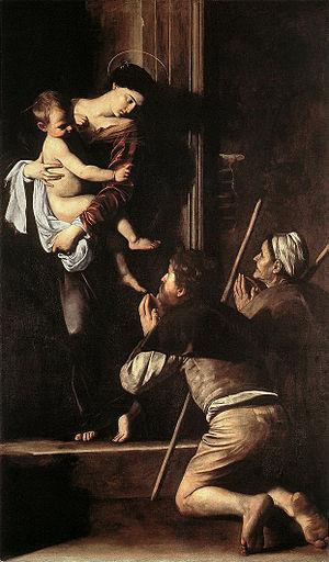 Michelangelo Merisi da Caravaggio - Madonna di...