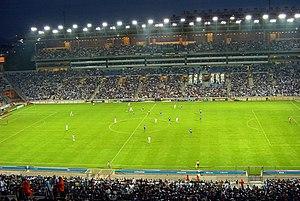 Français : Olympique de Marseille - RC Strasbo...