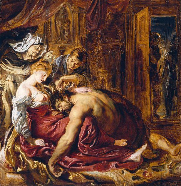 """""""Samson and Delilah"""" byPeter Paul Rubens"""