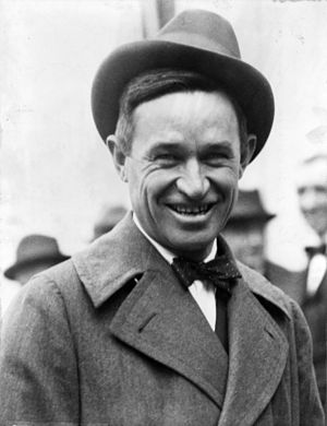 Movie star Will Rogers of Oklahoma