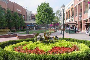 Scene from center of shopping mall