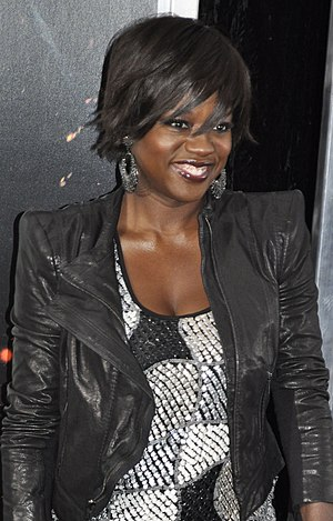 English: Viola Davis at the film premiere of H...