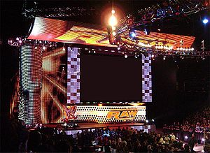 English: WWE Raw Hi-Def Set.