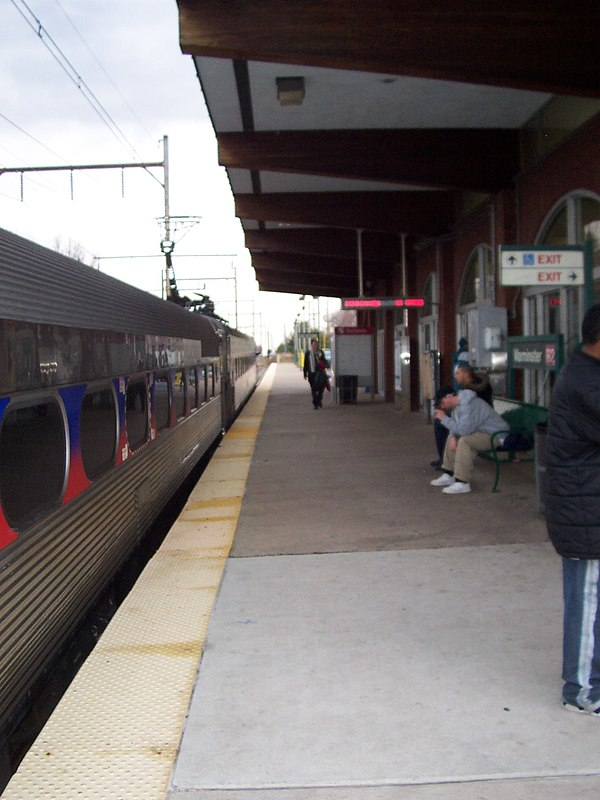 Electric railways in New Jersey
