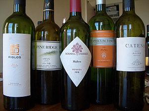 Consensus favorite bottles.